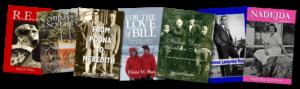 covers of memoir books, personal histories, ghostwritten biographies