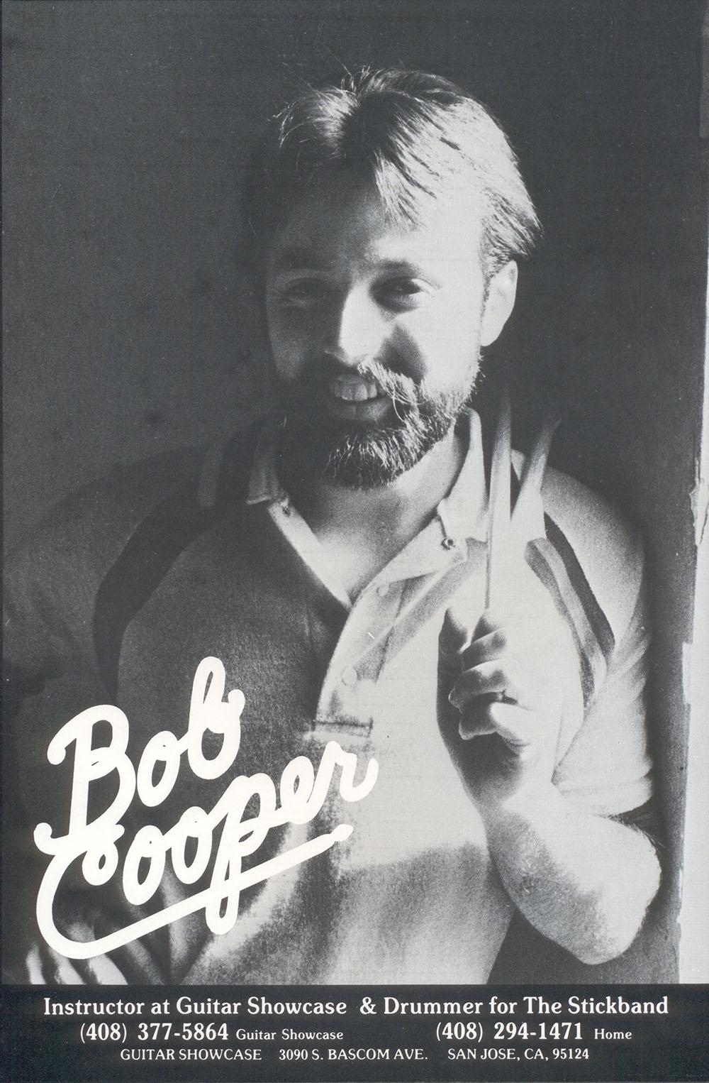 Bob Cooper Drum Instructor Promo 1980
