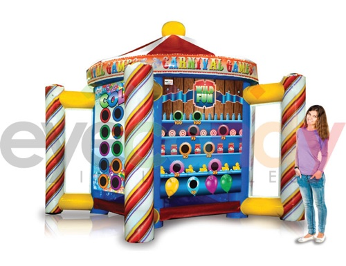 Inflatable Carnival Game Station