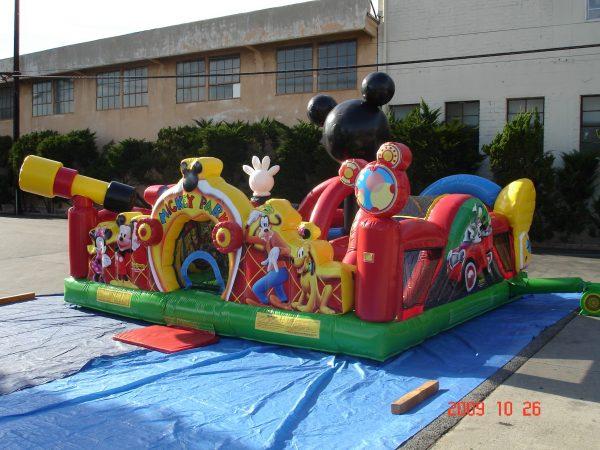 Mickey Park Bounce House