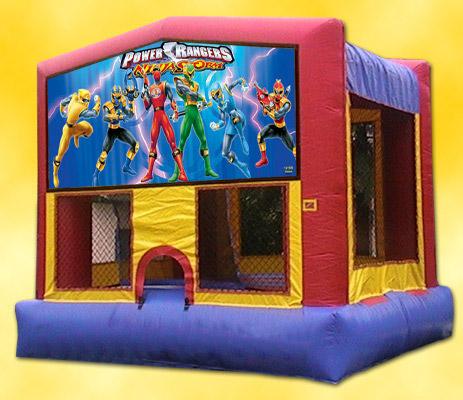 Power Ranger Bounce House