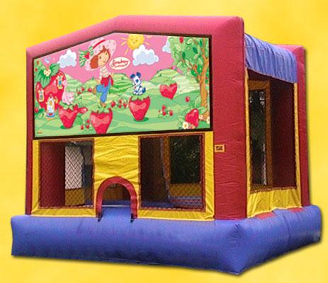 Strawberry Shortcake Bounce House