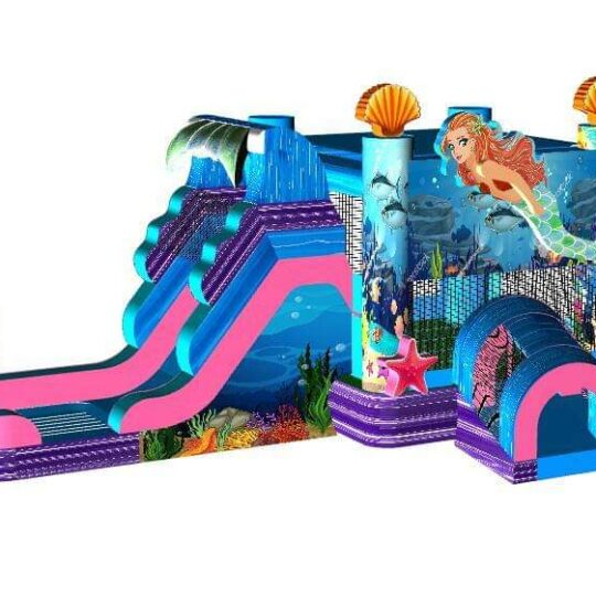 Mermaid Bounce House and Slide