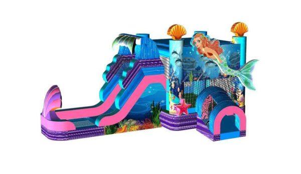 Mermaid Bounce House and Slide
