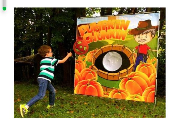 Pumpkin Chunkin Carnival Game