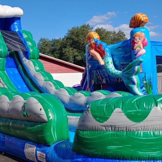Blue Marble Slide