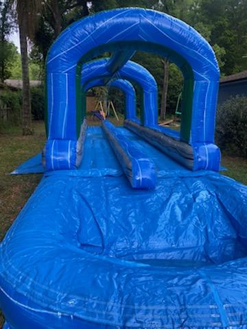 Two Lane Slip and Slide