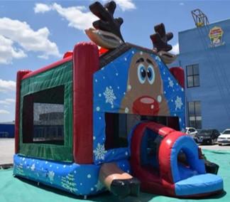 Reindeer Bounce House