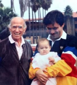 Jonas Salk with Kevin Kimberlin