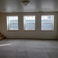 Unfished basement
