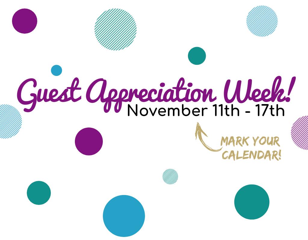 Sanctuary Spa Guest Appreciation Week