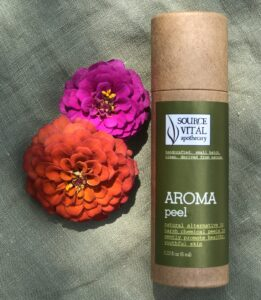 An exceptional alternative to harsh acids, Source Vitál Aroma Peel is an amazing exfoliation.