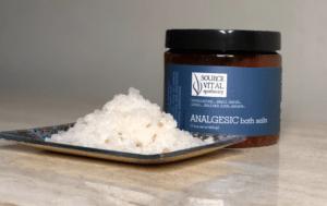 Analgesic Bath Salts