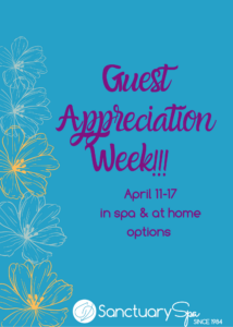 Guest Appreciation Week begins April 11! Stay tuned for all the magic!