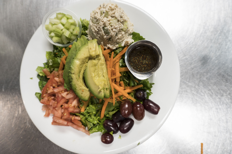 atlanta chicken salad, chicken salad plate, atlanta lunch spot