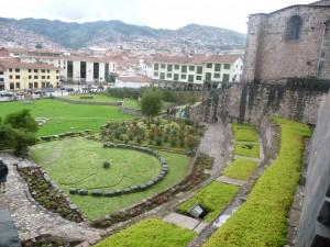 Cusco temple of the sun