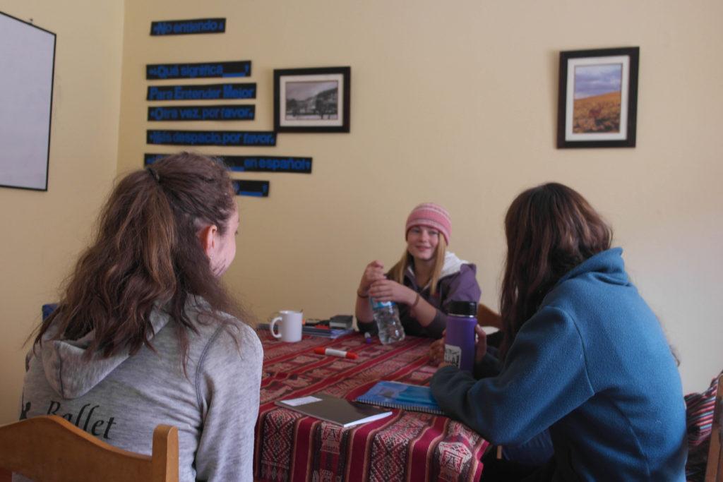 Peru learn Spanish group