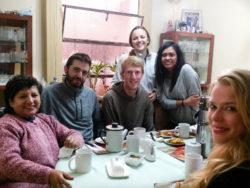 Guest family in Cusco