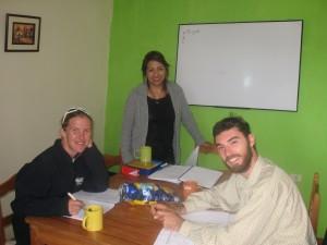 在库斯科的西班牙语课程