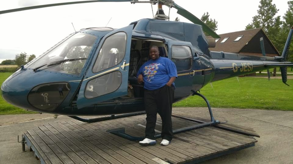 wicknell chivayo helicopter
