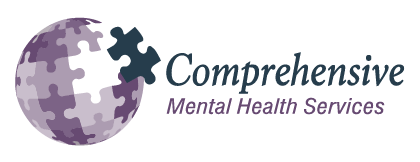 Comprehensive Mental Health Services Logo and link to agency website
