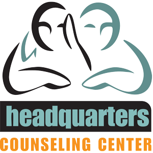 Headquarters Counseling Center logo and link to agency website