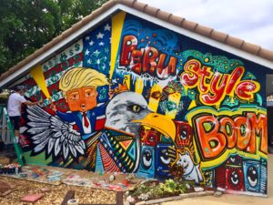 Trump Graffiti - Adam Sinai