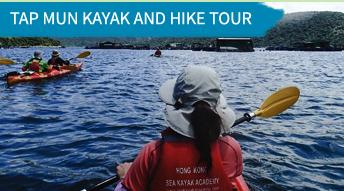 tap mun kayak and hike tour