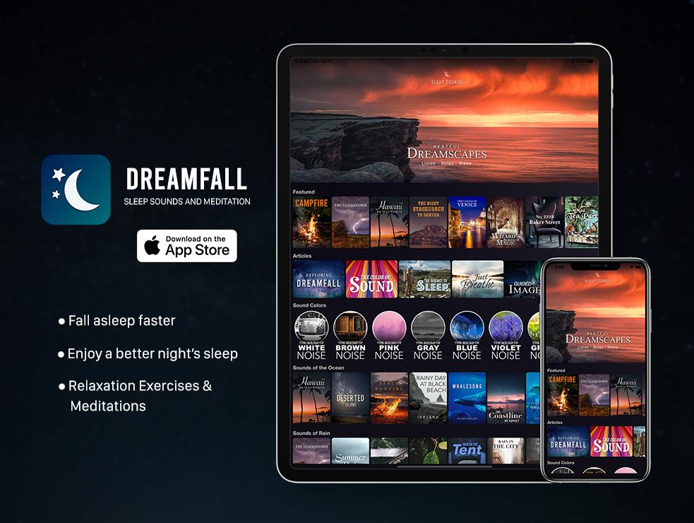Dreamfall iOS App for Sleep