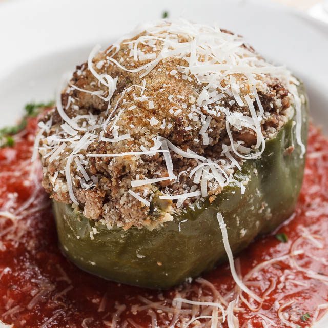 Louisiana Pizza Kitchen's Stuffed Bell Pepper