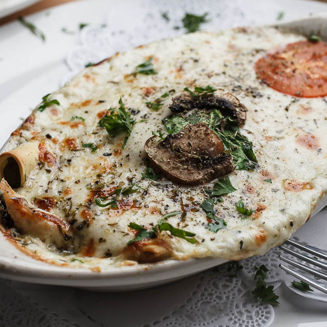 Louisiana Pizza Kitchen's Spinach Lasagna