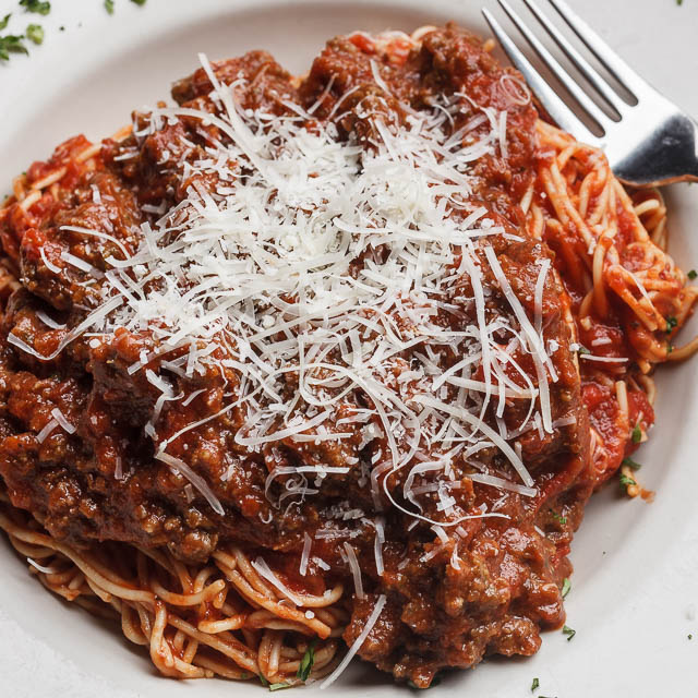 Louisiana Pizza Kitchen's Pasta Bolognese