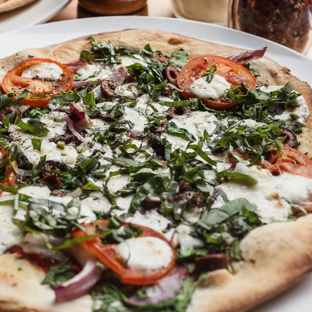 Louisiana Pizza Kitchen's Fresh Mozzarella Pizza