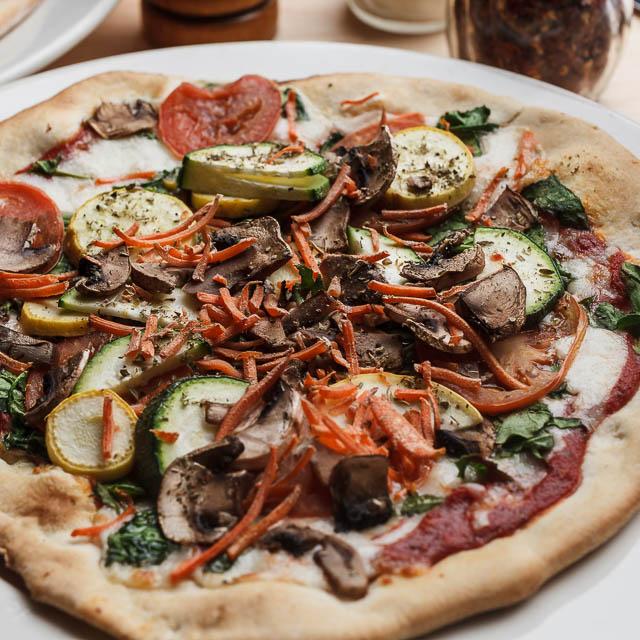 Louisiana Pizza Kitchen's Vegetarian Pizza