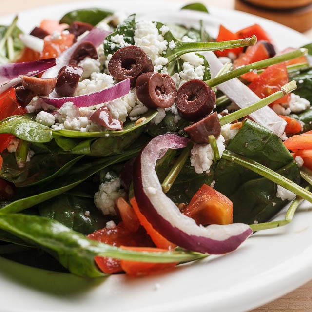 Louisiana Pizza Kitchen's Spinach Salad