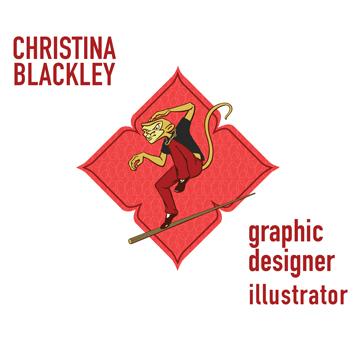 Christina Blackley Illustrator & Graphic Designer