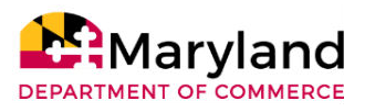 Maryland Dept of Commerce