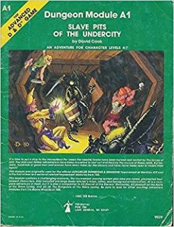 Advanced Dungeons and Dragons – Modules