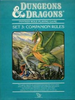 Dungeons and Dragons - COMPANION RULES / IMMORTAL RULES