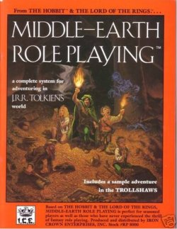Middle Earth Roleplaying 1st edition