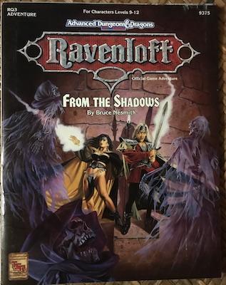 ravenloft from the shadows