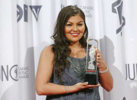 Crystal Wins 2013 Juno Award