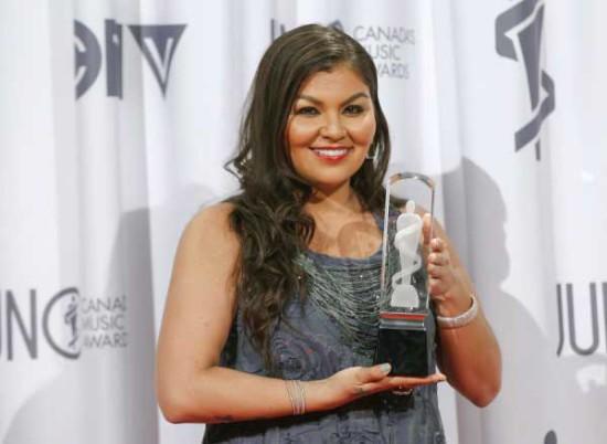 Crystal Wins 2013 Juno Award