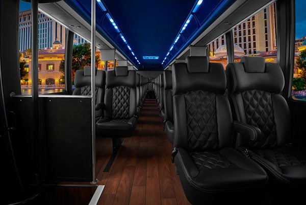 THINKLimo Premium Mini Coach Interior