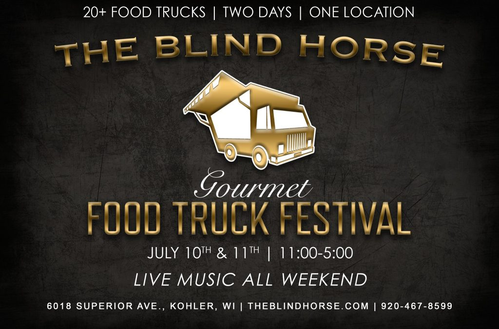 Gourmet Food Truck Festival @ The Blind Horse Winery
