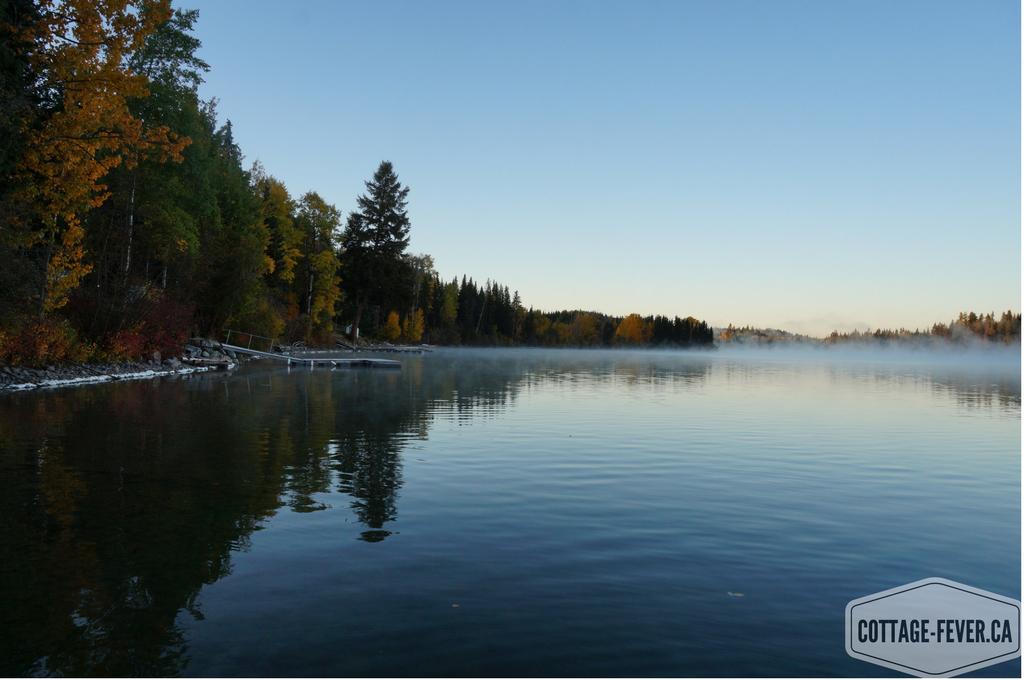 Lake in fall, autumn