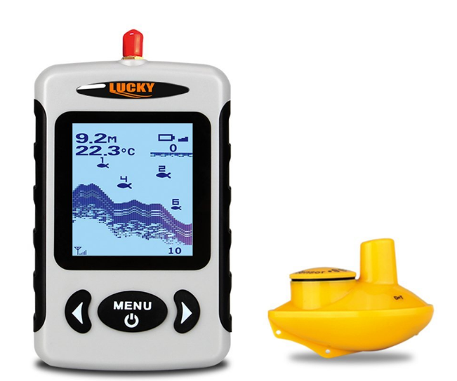 fish finder water thermometer