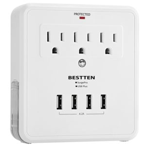 Usb outlet charging station