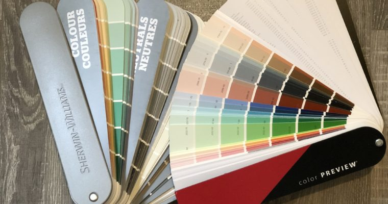 Factors that go into choosing a paint colour