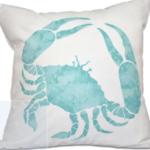 Cedarville Crab Walk Outdoor Pillow